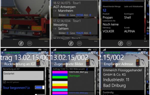 IGT Windows Phone Programm